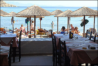 Acrogiali Restaurant Sea View