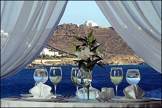 Apollonia Bay Dining With View