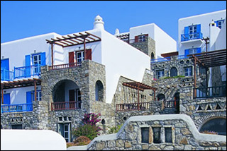 Mykonos Grand Resort External Elevation