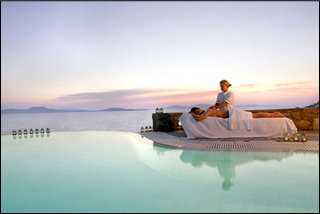 Mykonos Grand Resort Outdoor Massage