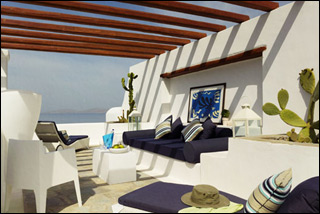 Mykonos Grand Resort Executive Suite Pergola