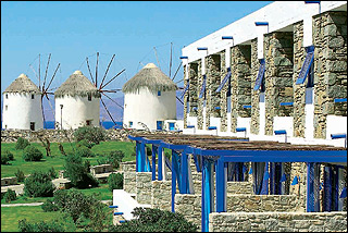 Mykonos Theoxenia Exterior And View