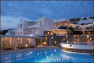 Porto Mykonos Main Building And Pool