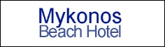 Myconos Beach logo